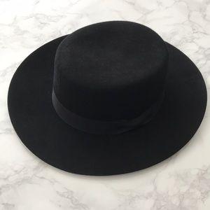 ALDO Flat Top Wide Brim Hat
